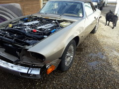 Jaguar XJS 6.0 v12 1995 re freshing after 10 years idling in California