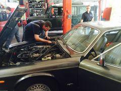 Eerste motor inspectie